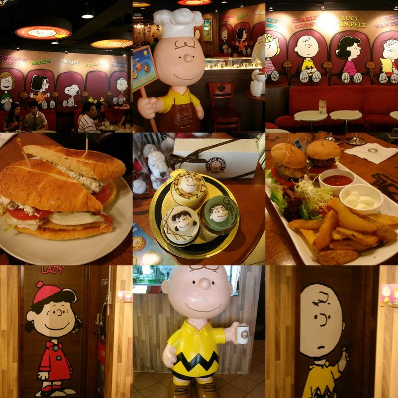 Charlie Brown Themed Cafe