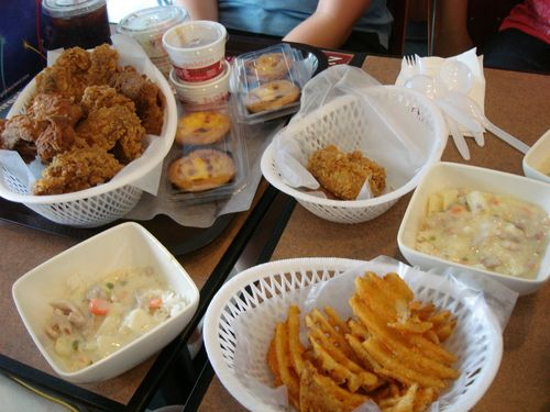 KFC - With Egg Tarts, Baked Rice...