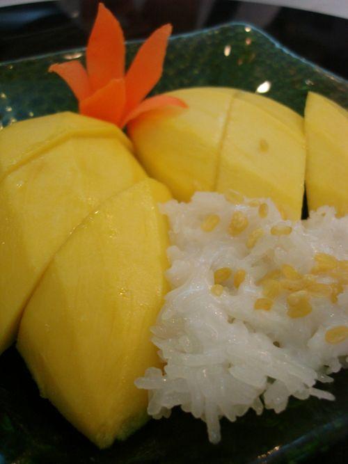 Mango w glutinous rice