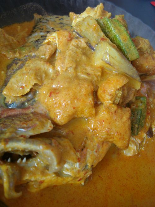 Curry fish for breakfast!