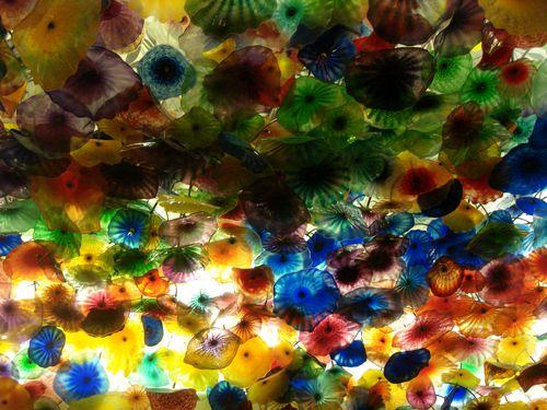 Flowery Ceiling