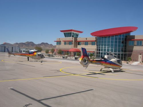 Parking Lot for Heli